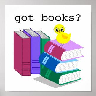 Got Books Reading Poster