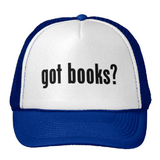 got books? trucker hats