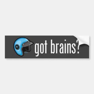 Got Brains? Bumper Sticker