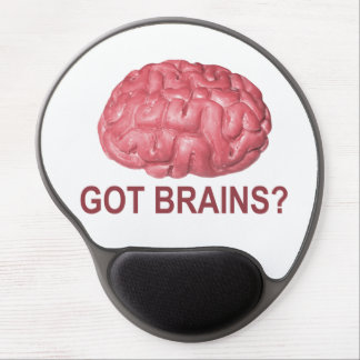 Got Brains? Gel Mouse Mat