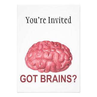 Got Brains Custom Invite