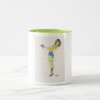 Got Brains? Two-Tone Coffee Mug