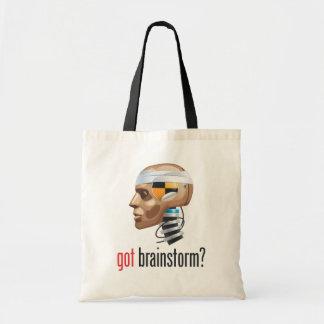 got brainstorm? tote bags