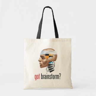 got brainstorm? budget tote bag