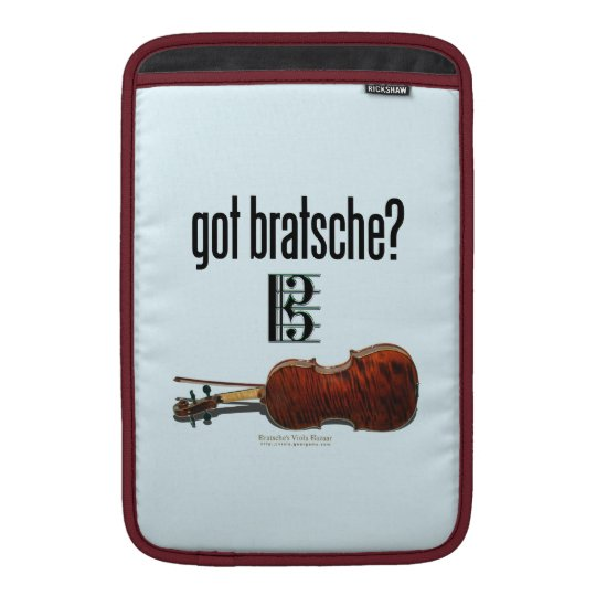 got bratsche? MacBook air sleeve