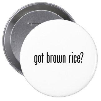 got brown rice pinback buttons