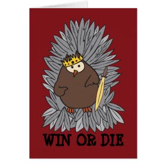GoT Brute Hoot Owl King Card