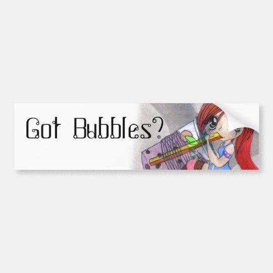 Got Bubbles Bubble Tea Bumber Sticker Bumper Sticker