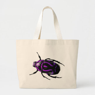 Got Bugs-Wild Colored Beetle Large Tote Bag