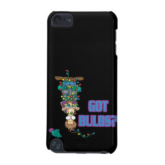 got bulbs funny xmas lights cartoon iPod touch (5th generation) cover