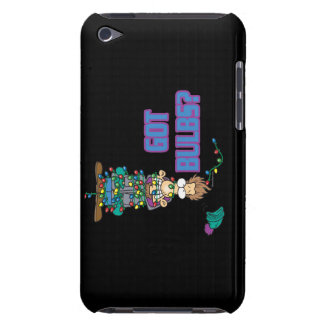 got bulbs funny xmas lights cartoon iPod Case-Mate case