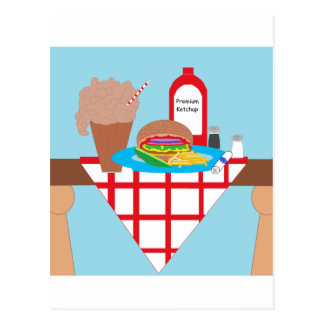 Got Burger? Postcard