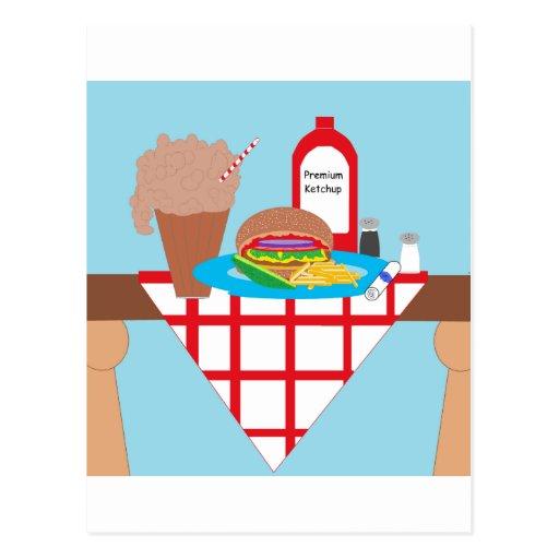 Got Burger? Postcard