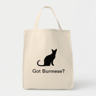 Got Burmese cat Tote Bag