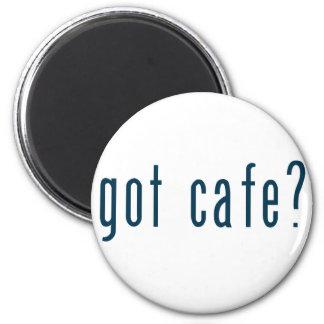 got cafe 6 cm round magnet