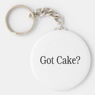 Got Cake? Basic Round Button Key Ring