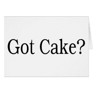 Got Cake? Card