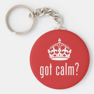 got calm? keychains