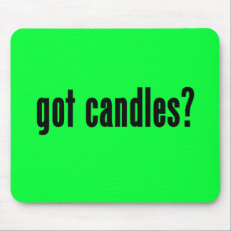 got candles mouse pads
