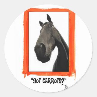 Got Carrots Classic Round Sticker