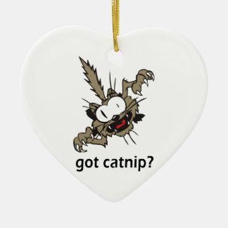 got catnip? christmas ornaments