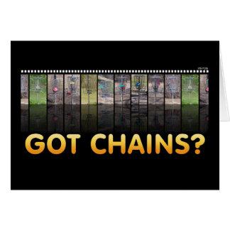 Got Chains? Greeting Card