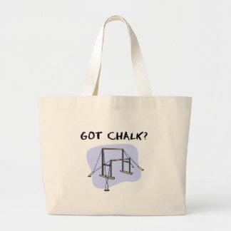 Got chalk? large tote bag