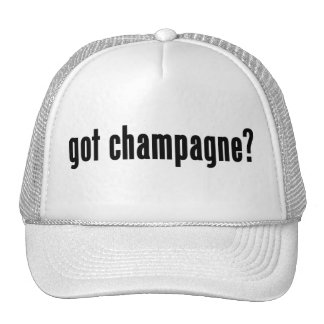 got champagne? hat