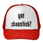 got chapstick? hat