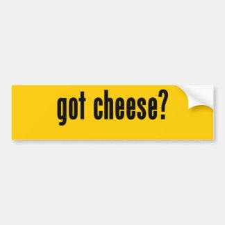 got cheese? car bumper sticker