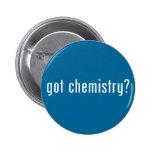 got chemistry? pinback button