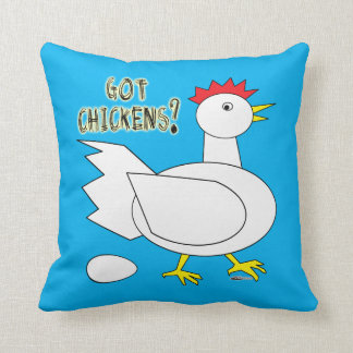 Got Chickens? Cushion