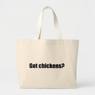 Got Chickens? Jumbo Tote Bag