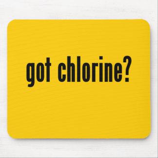 got chlorine mouse pad
