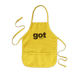 got chocolate? kids apron