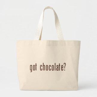 got chocolate? large tote bag