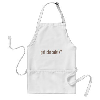 got chocolate? standard apron