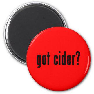 got cider? 6 cm round magnet