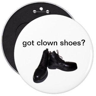 got clown shoes? button