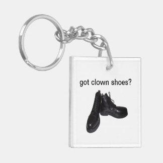 Got clown shoes? Plus got clown nose? Keychain