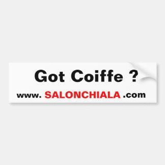 Got Coiffe ?, www.     , SALONCHIALA, .com Bumper Sticker