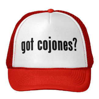 got cojones? cap