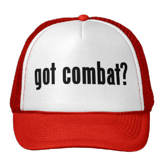 got combat? hats
