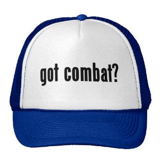 got combat? mesh hat