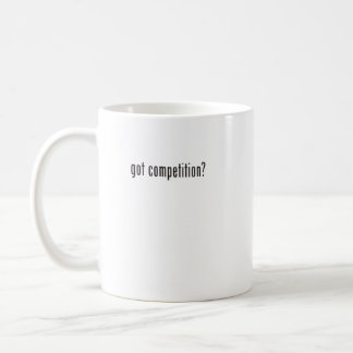 got competition? coffee mugs