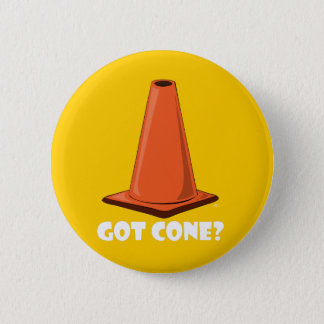 GOT CONE 1t 6 Cm Round Badge