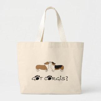 Got Corgis? Large Tote Bag