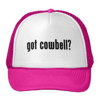 got cowbell? trucker hats