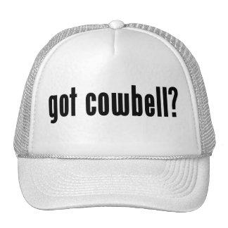 got cowbell? mesh hat