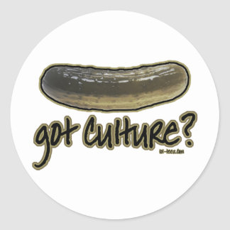 Got Culture? Round Sticker